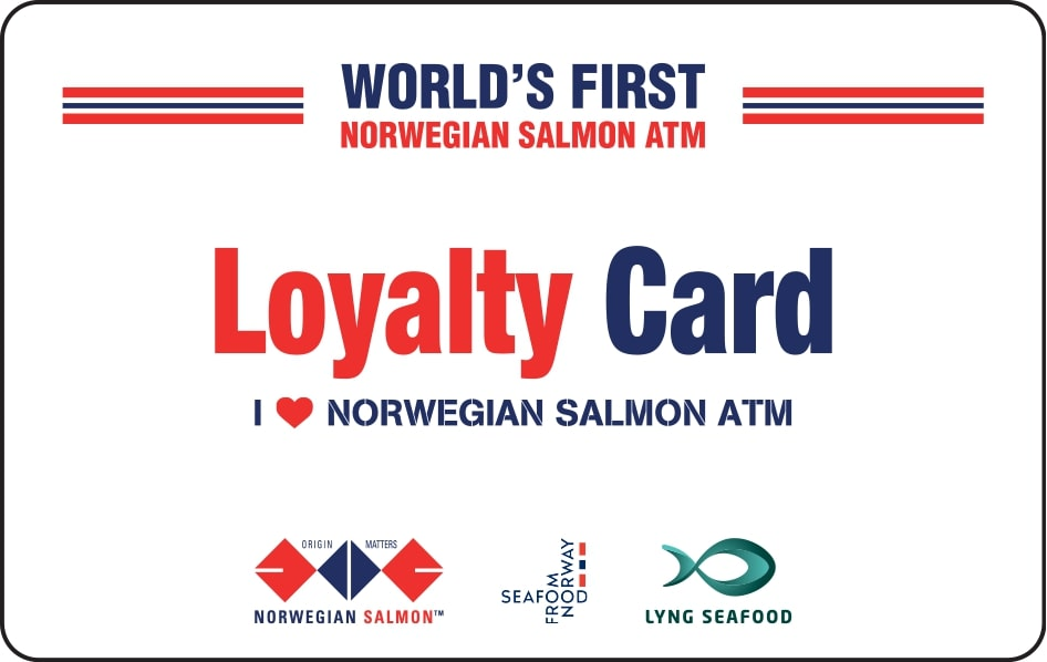 Salmon ATM Prepaid PHYSICAL Card - A Perfect Gift For The Loved Ones! (includes $10.00 credit)